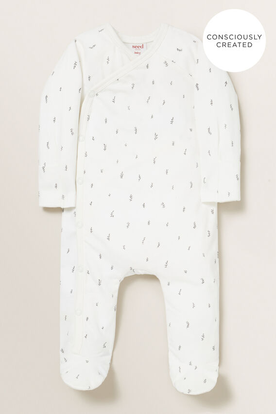 Organic Wrap Jumpsuit  CANVAS  hi-res