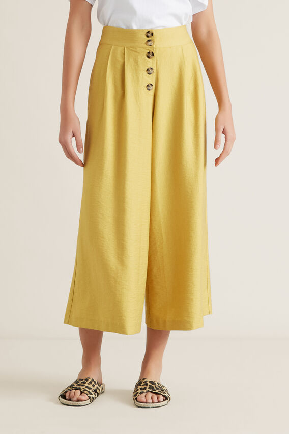 Textured Culotte  DUSTY MARIGOLD  hi-res
