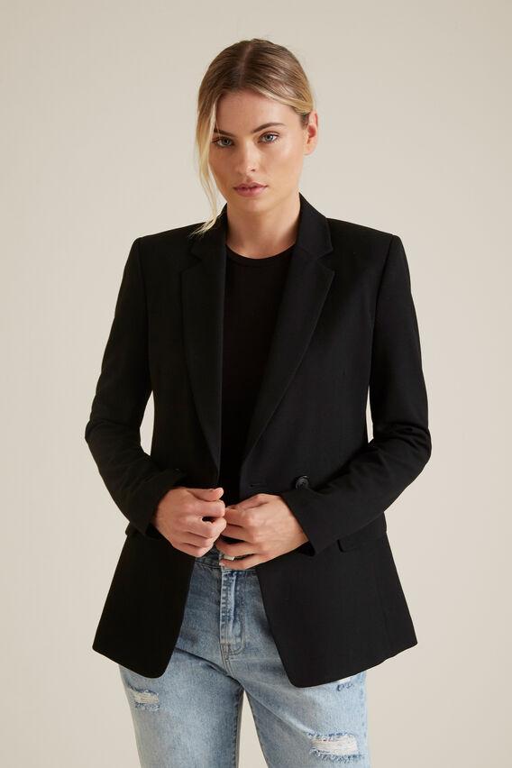 Tailored Blazer  BLACK  hi-res