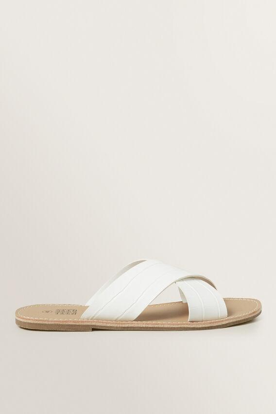 Teen Sandal  WHITE  hi-res