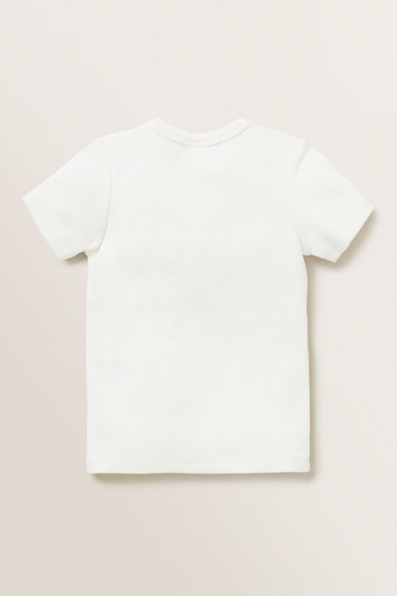 Rib Tee  CANVAS  hi-res