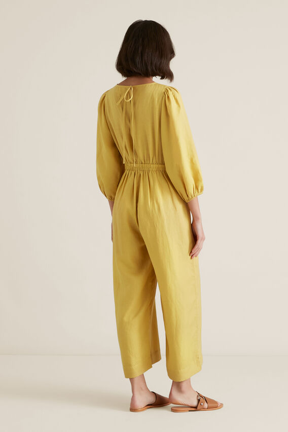 Blouson Sleeve Jumpsuit  DUSTY MARIGOLD  hi-res
