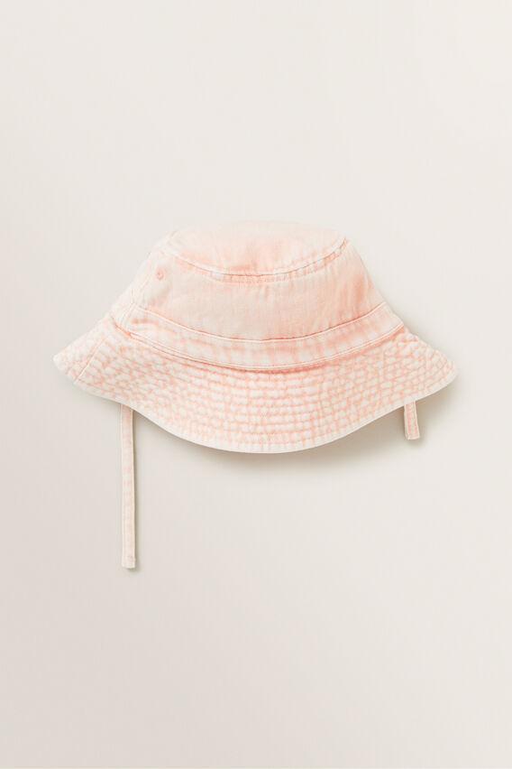 Acid Wash Bucket Hat  DUSTY ROSE  hi-res