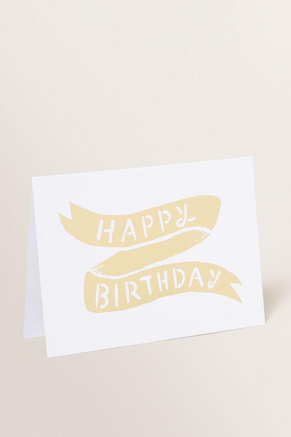 Greeting Card  HAPPY BIRTHDAY  hi-res
