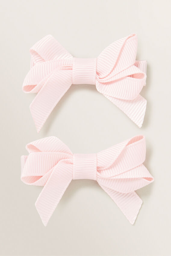 Double Bow Slide  DUSTY PINK  hi-res