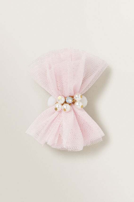 Tulle Pearl Duck Clip  ICE PINK  hi-res