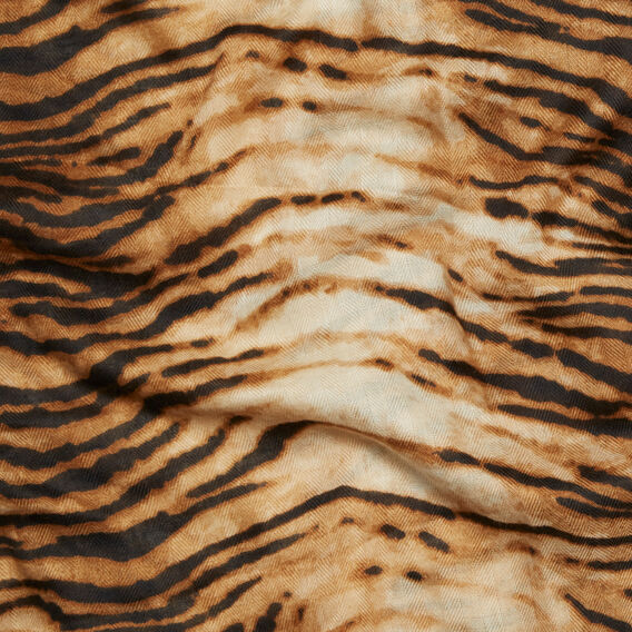 Tiger Print Scarf  TIGER  hi-res