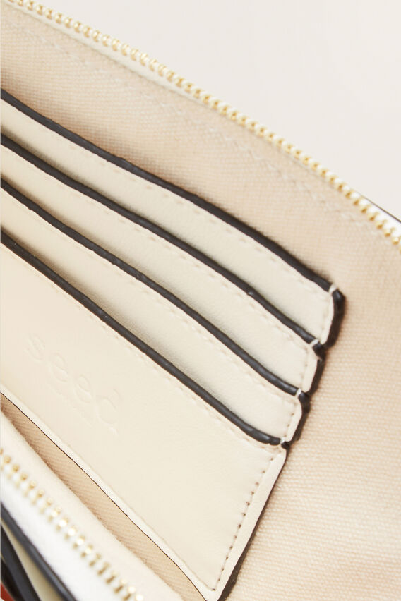 Buckle Detail Pouch  WHITE  hi-res