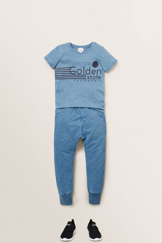 Golden State Tee  LIGHT INDIGO  hi-res