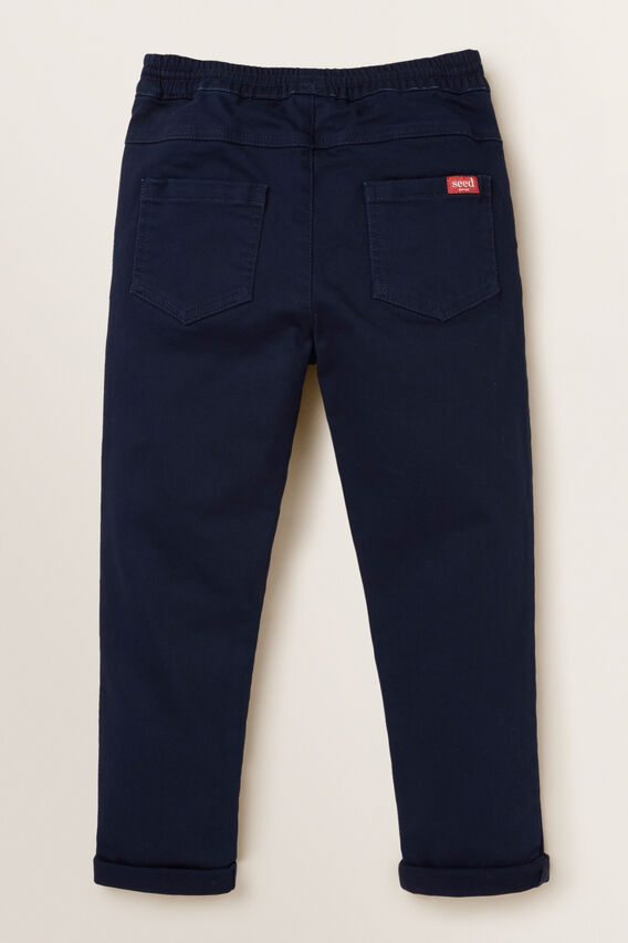 Knit Denim Chino  MIDNIGHT BLUE  hi-res