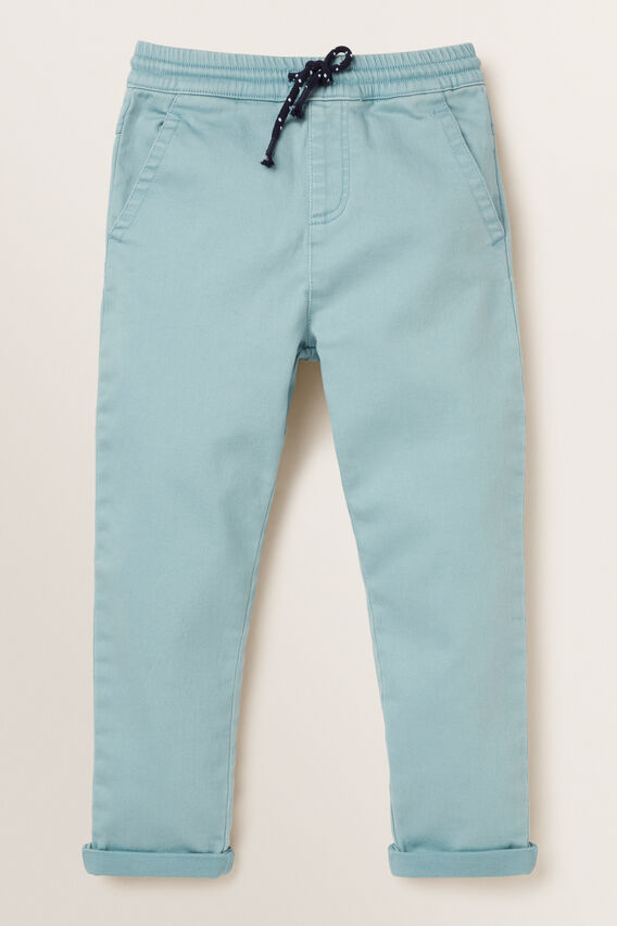 Knit Denim Chino  POWDER BLUE  hi-res