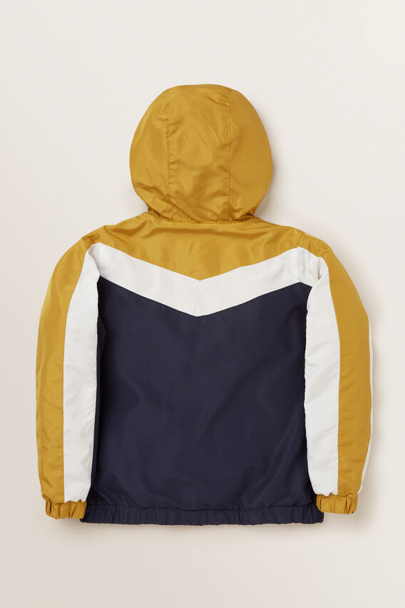 Sporty Spray Jacket  OCHRE  hi-res