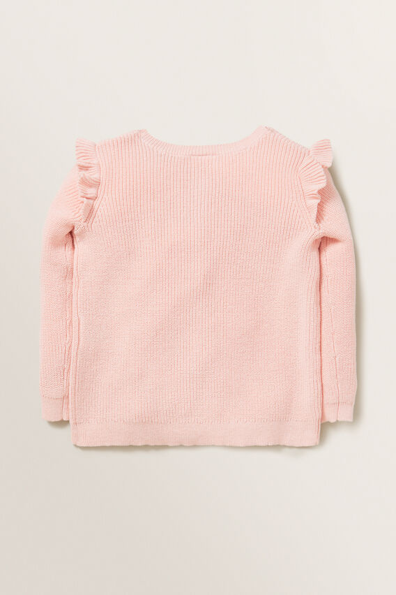 Rib Cardigan  DUSTY ROSE  hi-res