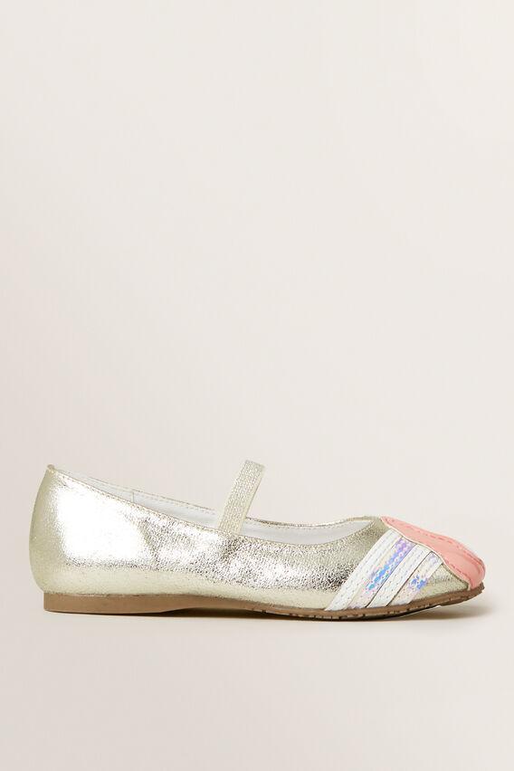 Party Ballet Shoe  GOLD  hi-res