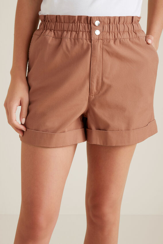 Button Tab Short  RED DESERT  hi-res