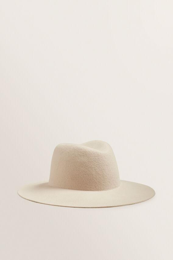 Clean Wide Brim Panama  SOUFFLE  hi-res