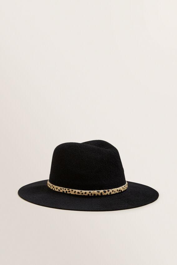 Lightweight Panama  BLACK/OCELOT  hi-res