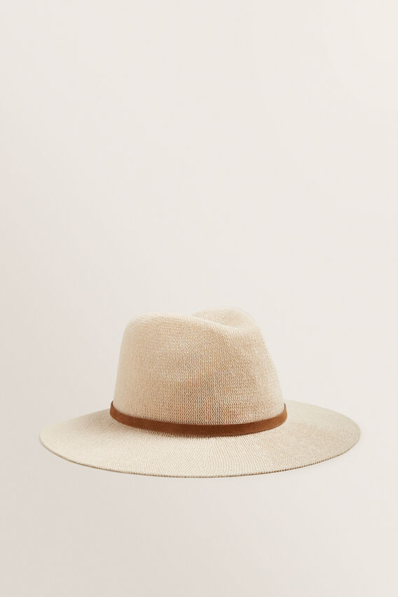 Lightweight Panama  NATURAL/ TAN  hi-res