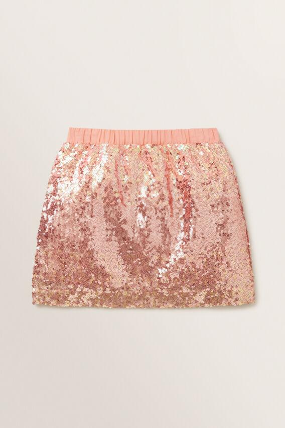 Ombre Sequin Skirt  MULTI  hi-res