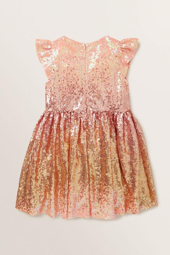 Ombre Sequin Dress  MULTI  hi-res