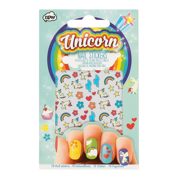 Unicorn Nail Stickers  MULTI  hi-res