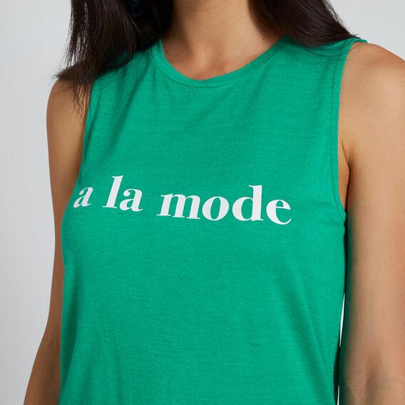 A La Mode Tank  PEACOCK GREEN  hi-res