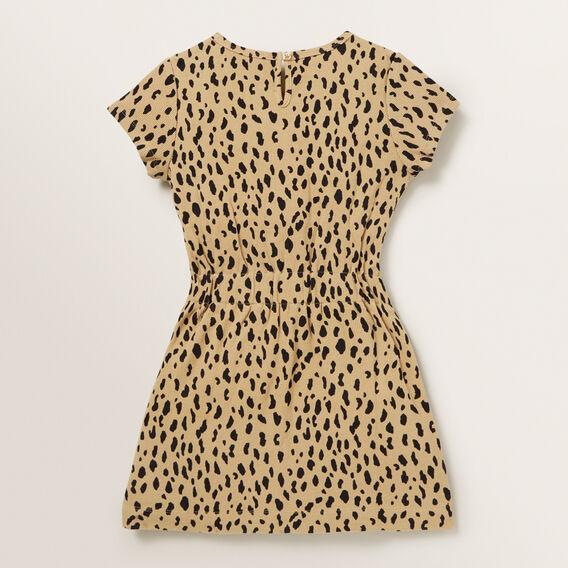 Clinched Waist Dress  OCELOT  hi-res