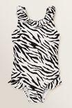 Zebra Frill Bather, ZEBRA, hi-res