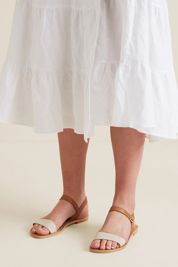 Alana Leather Sandal  TAN  hi-res
