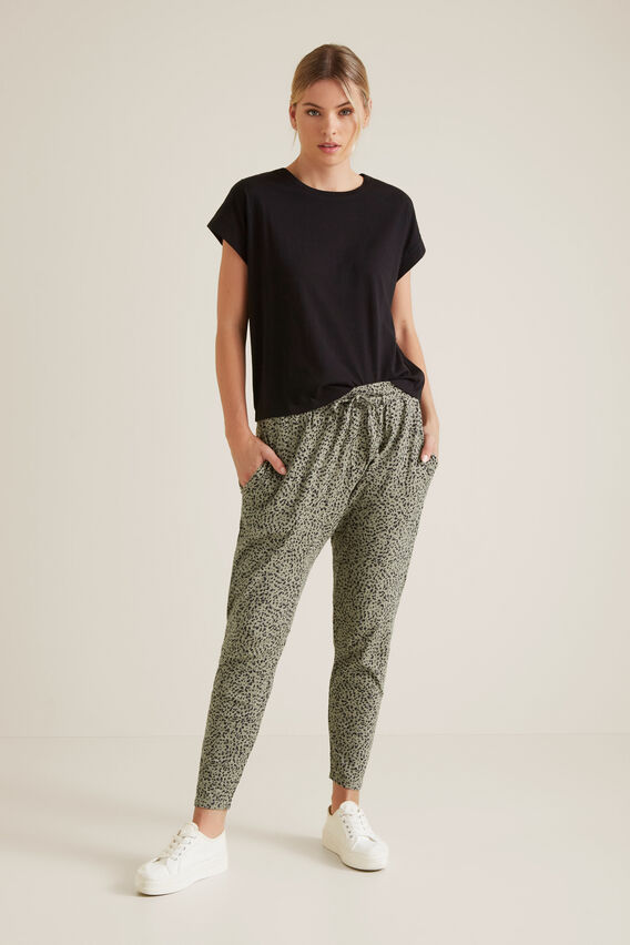 Leisure Ocelot Harem Pant  ANIMAL  hi-res