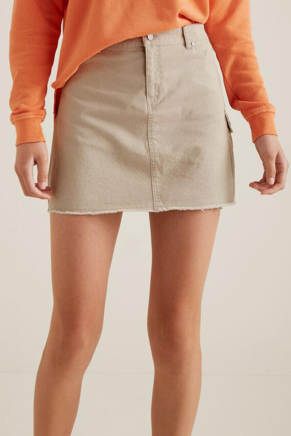 Utility Skirt  MOCHA  hi-res
