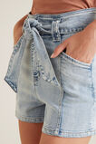 High Rise Denim Short  LIGHT SKY DENIM  hi-res