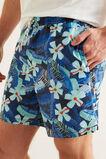 Mens Mini Me Tropical Boardshort  MIDNIGHT BLUE  hi-res