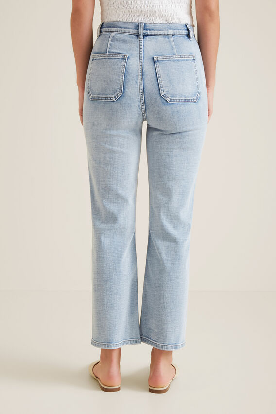 Patch Pocket Jean  LIGHT SKY DENIM  hi-res
