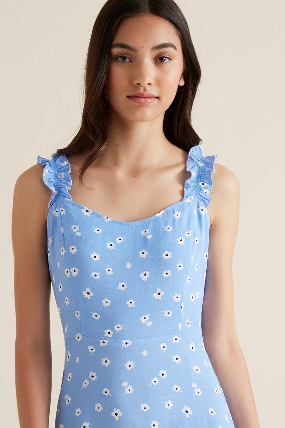Floral Dress  PERIWINKLE  hi-res