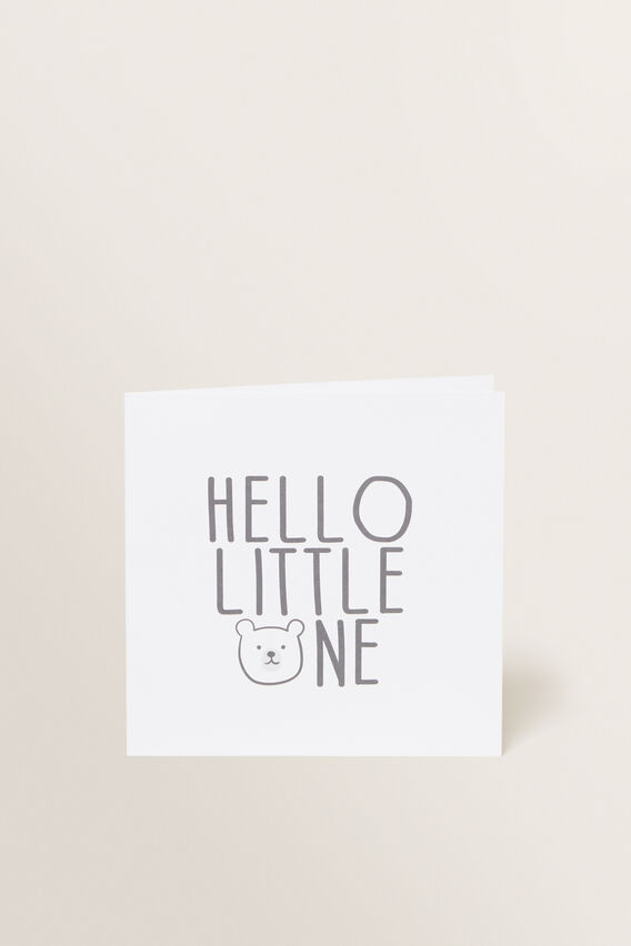 Little One Card  MULTI  hi-res