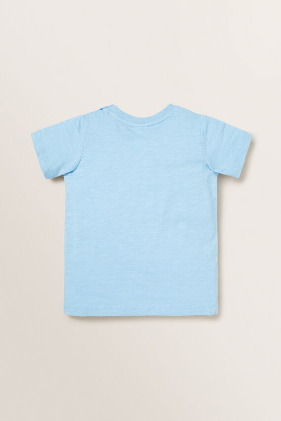 Novelty Whale Tee  REEF BLUE  hi-res
