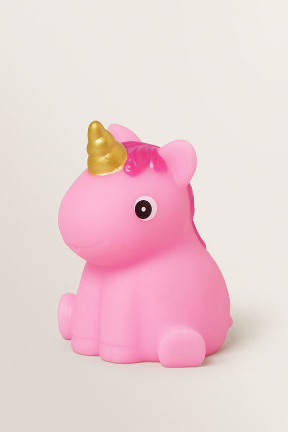 Unicorn Bath Squirter  PINK  hi-res