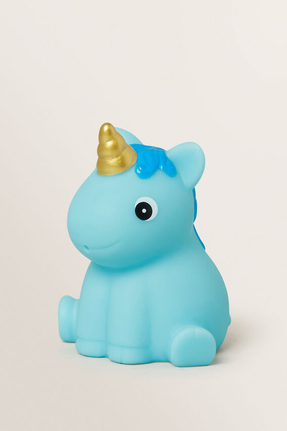 Unicorn Bath Squirter  BLUE  hi-res