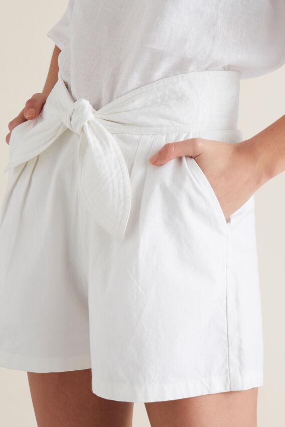 Tie Up Short  WHISPER WHITE  hi-res