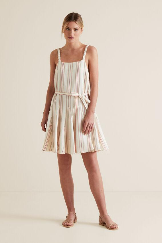 Striped Swing Dress  MULTI STRIPE  hi-res