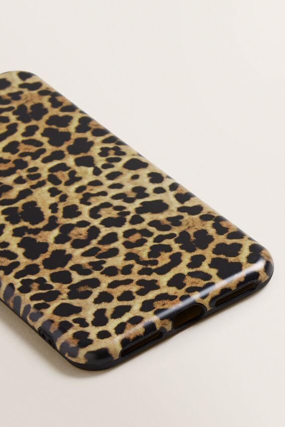 Printed Phone Case X/XS Max  LEOPARD  hi-res