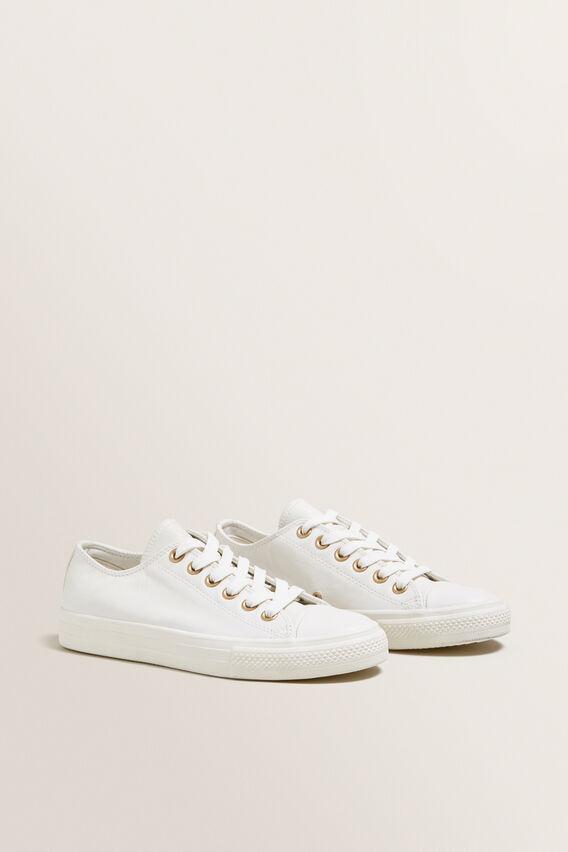 Alice Leather Sneaker  WHITE  hi-res