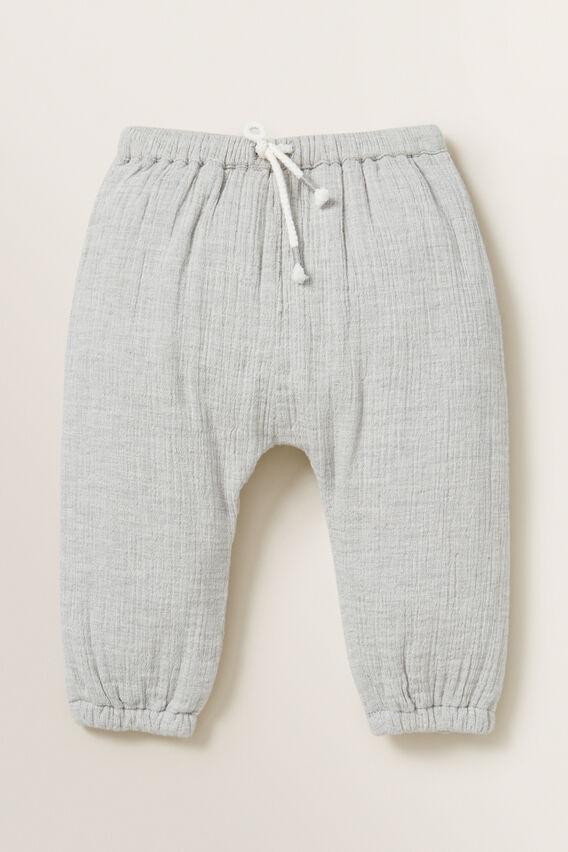 Cheesecloth Pant  GREY  hi-res