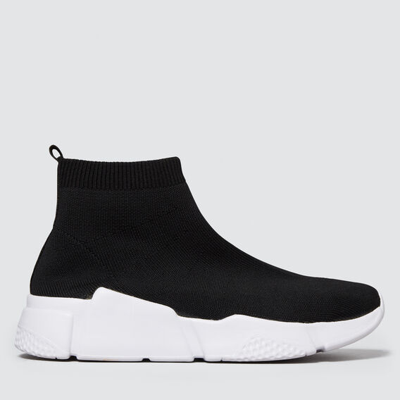 Sock Sneaker  BLACK  hi-res
