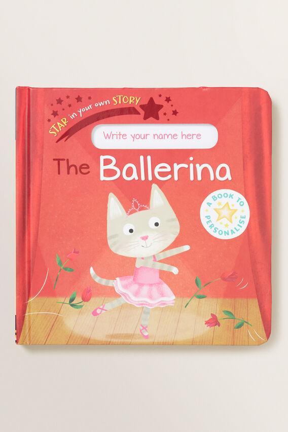 Ballerina Star In Your Story Book  MULTI  hi-res