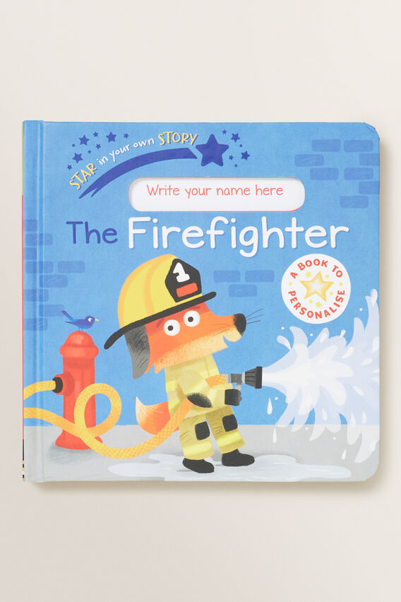 Firefighter Star In Your Story Book  MULTI  hi-res