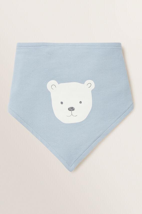 Bear Bandana Bib  RAIN  hi-res