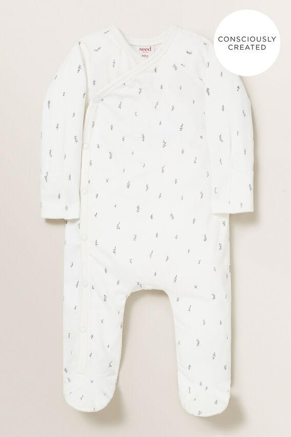 Organic Wrap Jumpsuit  CANVAS  hi-res