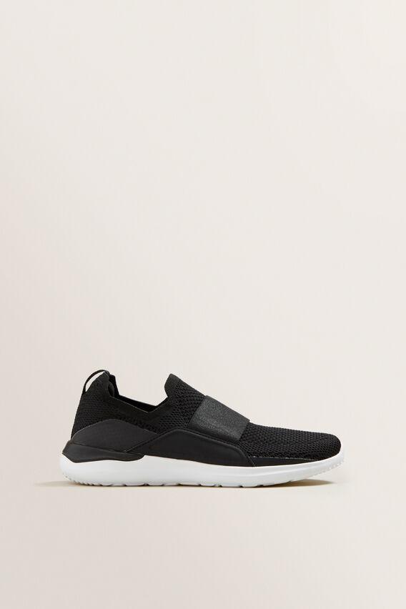 Ivy Pull On Sneaker  BLACK  hi-res